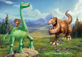 The Good Dinosaur poster Arlo L