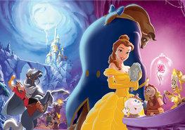 Belle en het Beest fotobehang XL