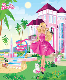 Barbie behang Nw - WT