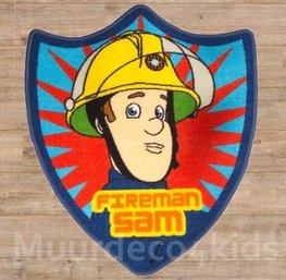 Brandweerman Sam vloerkleedje