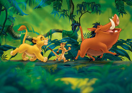 Lion King behang Hakuna Matata XL