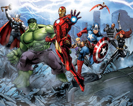 Avengers behang - WT