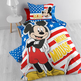 Mickey Mouse dekbedovertrek USA