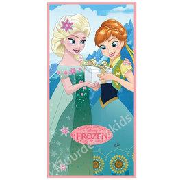 Frozen badlaken cadeautje