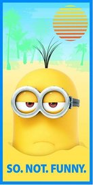 Minions badlaken - not.so.funny