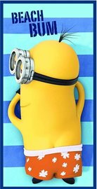 Minions badlaken Beach bum
