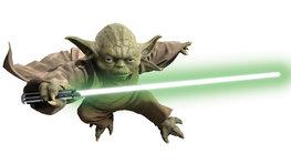 Yoda muursticker XXL