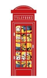 Minions muursticker Telephone XL