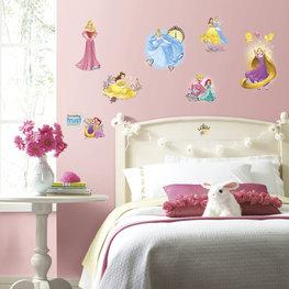 Disney Princess glitter muurstickers