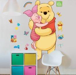 Winnie the Pooh muursticker XXL