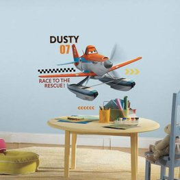 Planes muursticker Dusty