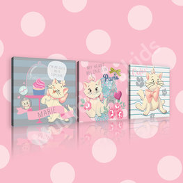 Disney Marie canvas 3-delige set