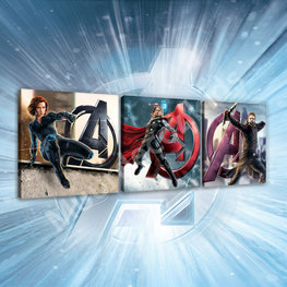 Avengers canvas 3 delige set B
