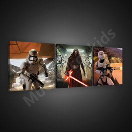 Star Wars canvas 3-delige set