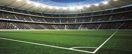Voetbalstadion 2 vlies fotobehang H