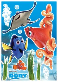 Finding Dory and Friends muurstickers