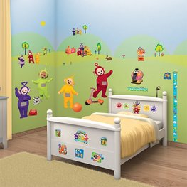 Teletubbies muurstickers WT