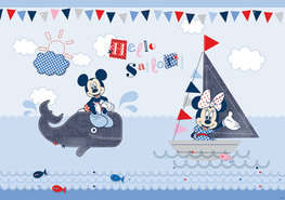 Mickey Mouse behang babykamer