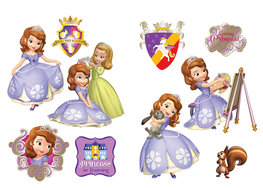 Sofia het prinsesje muurstickers L