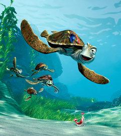 Finding Nemo vliesbehang M Zeeschildpad