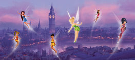 Disney Fairies poster Londen H