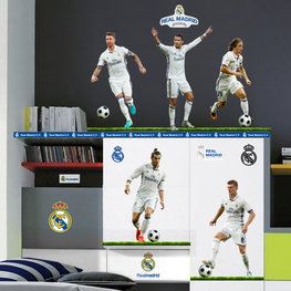Real Madrid muurstickers 5 topspelers