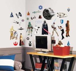 Star Wars muurstickers classic