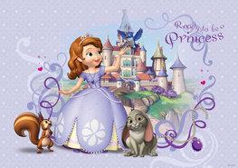 Sofia het prinsesje vliesbehang Princess L