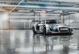Audi R8 Le Mans fotobehang XL