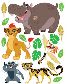 Lion Guard muurstickers XL