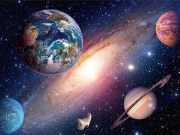 Universe vlies fotobehang XL