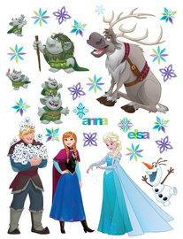 Frozen muurstickers XL Vrienden
