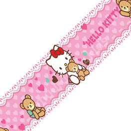 Hello Kitty behangrand 20 cm hoog