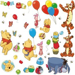 Winnie the Pooh muurstickers