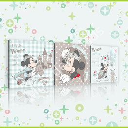 Mickey Mouse canvas set