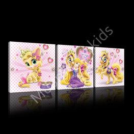 Rapunzel canvas set