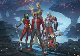 Guardians of the Galaxy vlies fotobehang XL