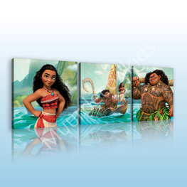 Vaiana canvas set