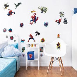 Spiderman muurstickers set M