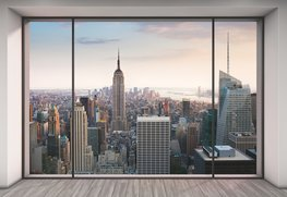 3D Fotobehang Penthouse - New York