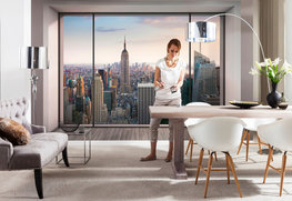 Vlies fotobehang Penthouse - New York