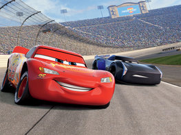 Cars 3 behang - WT