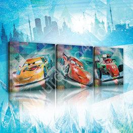 Cars canvas set Race