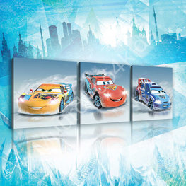 Disney Cars canvas set 3-delig