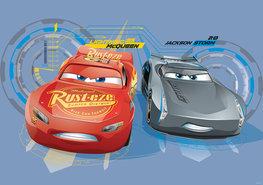 Cars 3 fotobehang McQueen en Storm XL