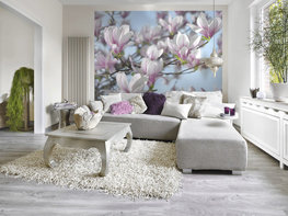 Fotobehang Magnolia