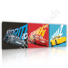 Disney Cars 3 canvas set