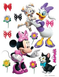 Minnie en Katrien muurstickers XL