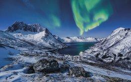 I Love Norway fotobehang - SH