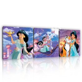 Disney Princess canvas set Jasmine